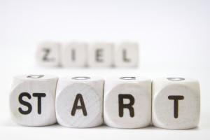 Starten zum Ziel